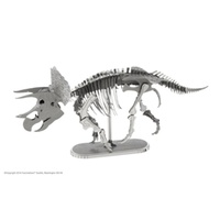 Metal Earth Dinosaur Triceratops Skeleton