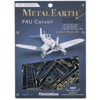 Metal Earth F4U Corsair Metal Puzzle Kit