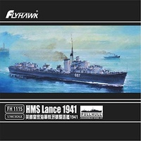 Flyhawk 1/700 HMS Lance 1941 Full Hull FH1115 Plastic Model Kit