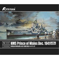 Flyhawk 1/700 HMS Prince of Wales Dec. 1941 FH1117 Plastic Model Kit