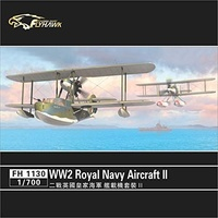 Flyhawk 1/700 WW2 Royal Navy Aircraft ? FH1130 Plastic Model Kit
