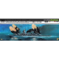 Flyhawk 1/700 German Battleship Gneisenau 1940(Normal Edition) FH1149 Plastic Model Kit