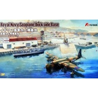 Flyhawk 1/700 Royal Navy Seaplane Dockside Base
