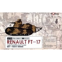Flyhawk 1/72 Renualt FT-17 Light Tank(Riveted turret)