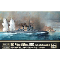 Flyhawk 1/700 HMS Prince Of Wales 1941.5-- Battle Of Denmark Strait (Deluxe Edition)