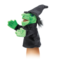Folkmanis Little Witch Puppet FM2984