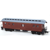 Frateschi HO Wooden Clerestory Baggage Car Santa Fe 2610