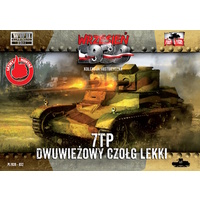 First To Fight 032 1/72 7TP LIGHT TANK - twin turret Plastic Model Kit