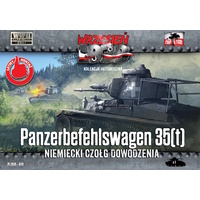 First To Fight 039 1/72 Panzerbefehlswagen 35(t) - German command tank Plastic Model Kit