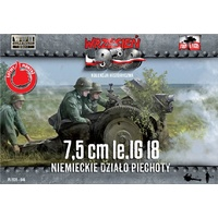 First To Fight 046 1/72 7,5cm le IG 18 German Infantry gun Plastic Model Kit