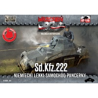 First To Fight 047 1/72 Sd.Kfz. 222 - German Light Armored Car Plastic Model Kit