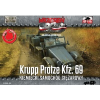 First To Fight 051 1/72 Krupp Protze. German version. Plastic Model Kit