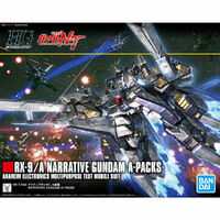 Gundam HGUC 1/144 Narrative Gundam (A-packs)