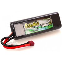 Gens Ace 3000mAh 50C 7.4V Hard Case Lipo Battery (Deans Plug) Bashing Series