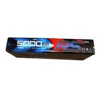Gens Ace 5000mAh 100C 7.4V Hard Case Lipo Battery (Deans Plug)