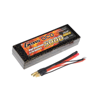 Gens Ace 5000mAh 65C 7.4V Hard Case Lipo Battery (Deans Plug)