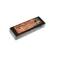 Gens Ace 5800mAh 45C 7.4V Hard Case Lipo Battery (4mm bullets, no leads))