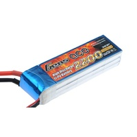 Gens Ace 2200mAh 30C 11.1V Soft Case Battery (Deans Plug)