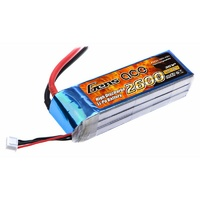 Gens Ace 2600mAh 25C 11.1V Soft Case Battery (Deans Plug)
