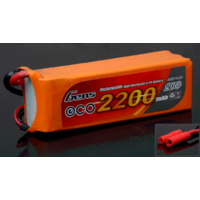 Gens Ace 2200mAh 20C 14.8V Soft Case Lipo Battery (4.0mm Banana Plug)