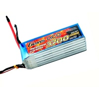 Gens Ace 3700mAh 60C 22.2V Soft Case Lipo Battery (Deans Plug)