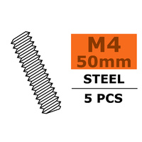 G-Force Tie Rod M4x50 Steel (5pcs) GF-0160-010