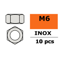 G-Force Nut M6 Inox (10pcs) GF-0250-006