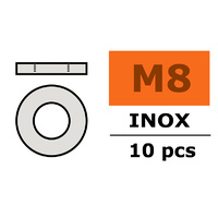 G-Force Washer M8 Inox (10pcs) GF-0254-008