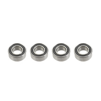 G-Force Ball Bearing (ABEC3) Rubber Shielded 5x10x4 (4pcs) GF-0500-004
