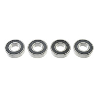 G-Force Ball Bearing (ABEC3) Rubber Shielded 10x22x6 (4pcs) GF-0500-020