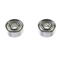 G-Force Ball Bearing (ABEC3) Metal Shielded 2.5x6x2.6 (2pc) GF-0550-007