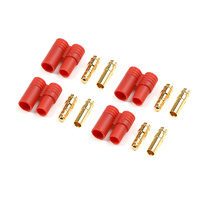 G-Force 3.5mm Gold Connector with Plastic Housing (4pcs) GF-1001-002