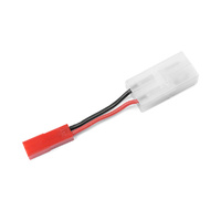 G-Force Power Adapter Lead - Tamiya Plug <=> BEC Plug - 20AWG Silicone Wire (1)