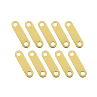 G-Force Gold Plated Battery Bars 18.5mm (x10) GF-1330-001