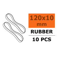 G Force Wing Rubber Bands 120 x 10mm (10pcs) GF-2000-004