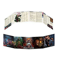 Dungeons & Dragons Waterdeep Dungeon of the Mad Mage DM Screen