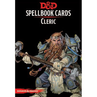 Dungeons & Dragons Spellbook Cards Cleric Deck (149 Cards) Revised 2017 Edition
