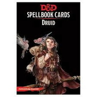 Dungeons & Dragons Spellbook Cards Druid Deck (131 Cards) Revised 2017 Edition