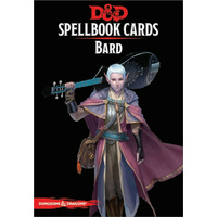 Dungeons & Dragons Spellbook Cards Bard Deck (110 Cards) Revised 2017 Edition