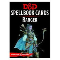 Dungeons & Dragons Spellbook Cards Ranger Deck (46 Cards) Revised 2017 Edition
