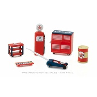 Greenlight 1/64 Caltex Muscle Shop Tools 13159 Diecast