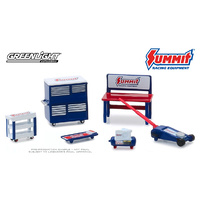 Greenlight 1/64 Summit Racing Muscle Shop Tools (6pcs) Diecast