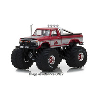 "Greenlight 1/18 King Kong 1975 Ford F-250 Monster Truck w/66"" Tyres Kings of the Crunch 13539 Diecast"