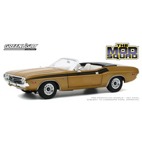 Greenlight 1/18 Mod Squad 1971 Dodge Challenger 340 Convertible Gold Movie Diecast Car