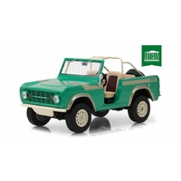 "Greenlight 1/18 1976 Ford Bronco ""Twin Peaks"" Artisan (No Opening Parts) as seen on Gas Monk 19034 Diecast"