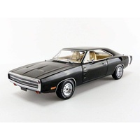 Greenlight 1/18 Supernatural 1970 Dodge Charger Movie Artisan Diecast Car