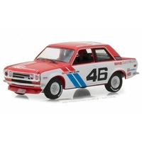 Greenlight 1/64 1971 Datsun 510 - #46 Brock Racing Enterprises - John Morton (SINGLES) 29900-C Diecast