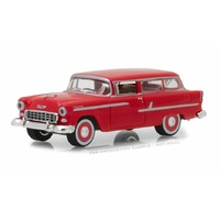Greenlight 1/64 1955 Chevy Two-Ten Handyman Gypsy Red Estate Wagons Series 1 (SINGLES) 29910-B Diecast