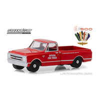 Greenlight 1/64 Official Fire Truck 1967 Chev C-10 51st Annual Indianapolis 500 Mile Race 30030 Diecast