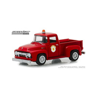 Greenlight 1/64 1954 Ford F-100 Arlington Heights Illinois Public Works 30031 Diecast
